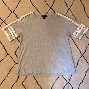 J. Crew Gray Shirt
